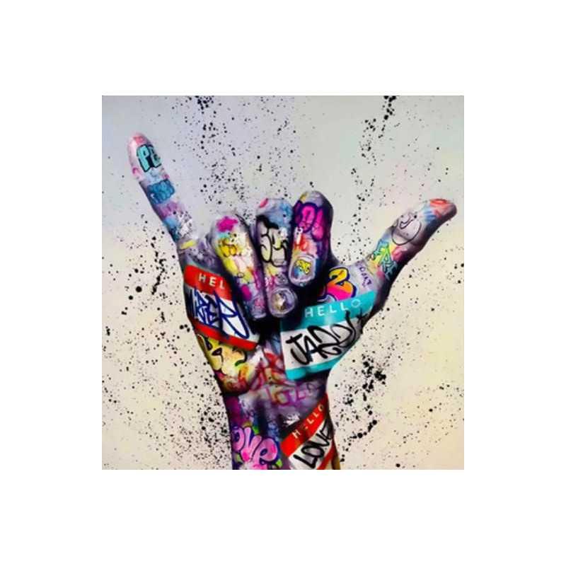 Graffiti-Graffiti Hand- From 21,59$