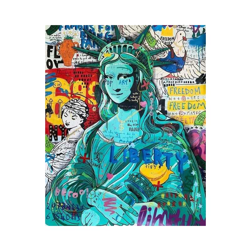 Graffiti-Graffiti Statue of Liberty- From 20,28$